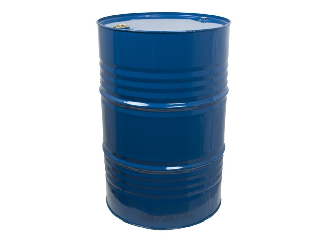 Petroleum solution (artificial varnish) in metallic barrel