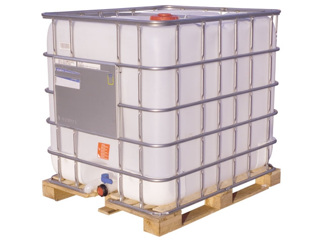 Monoethanolamine (MEA) in a intermediate bulk container (IBC) 1000 liters